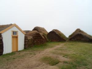 Antiche abitazioni islandesi