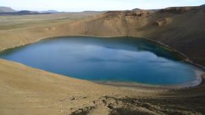 Laghetto nel cratere Viti