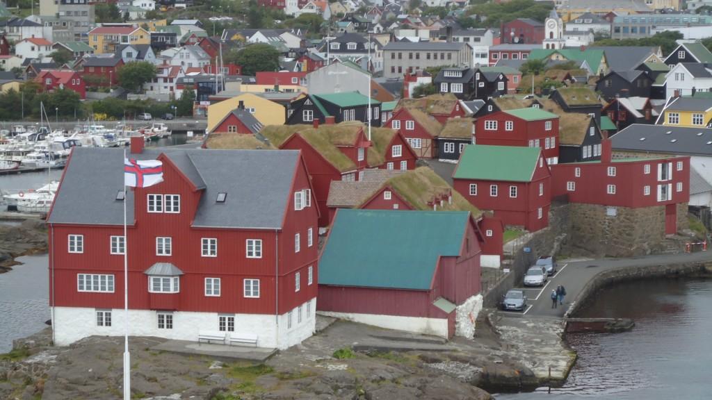 Porto isole Faer Oer
