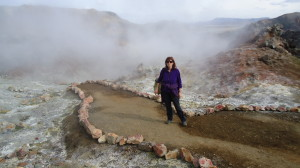 Trekking nella valle di Landmannalaugar