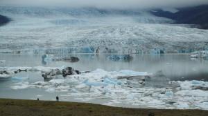 Iceberg nella baia di Jokuls