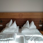 Letto matrimoniale suite hotel Autentic Adler Rasun di Sotto Anterselva