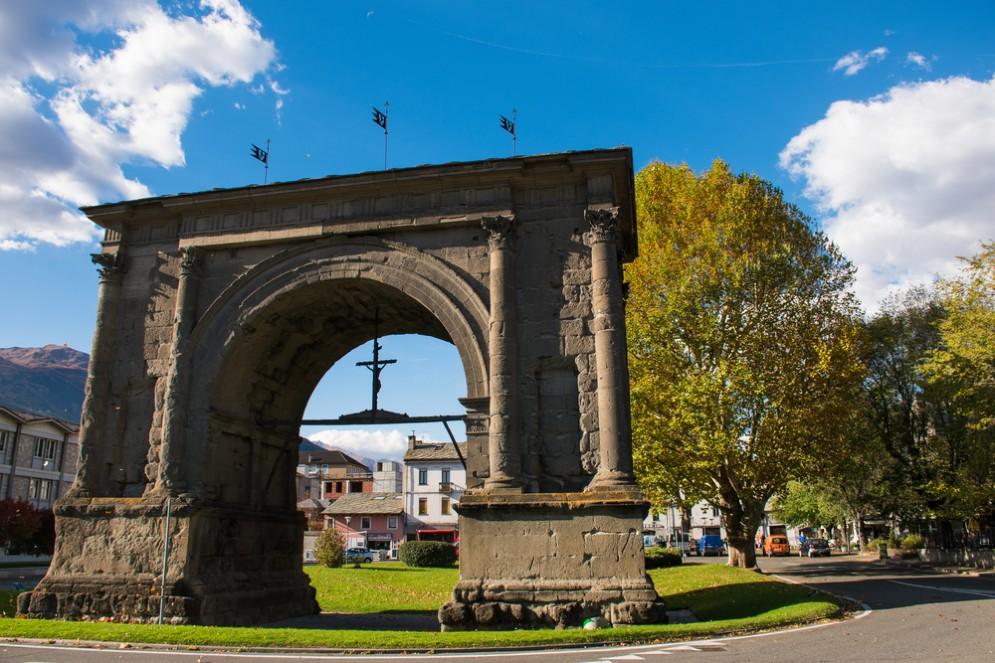 Arco di Augusto Aosta
