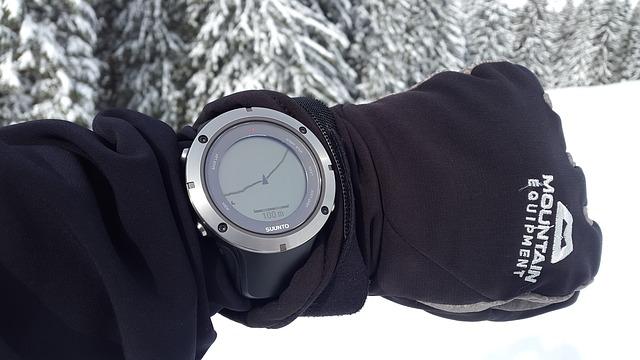 Orologio con traccia GPS