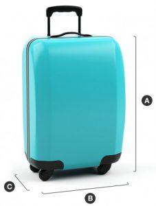 Dimensioni bagaglio a mano Air New Zealand