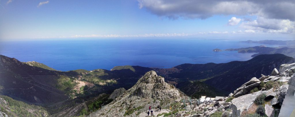 Isola d'Elba da monte Capanne