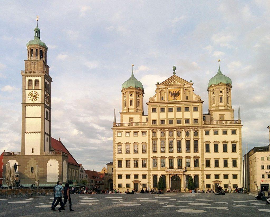 Municipio di Augusta e Perlachturm