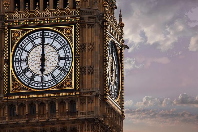 Big Ben torre dell'orologio di Londra