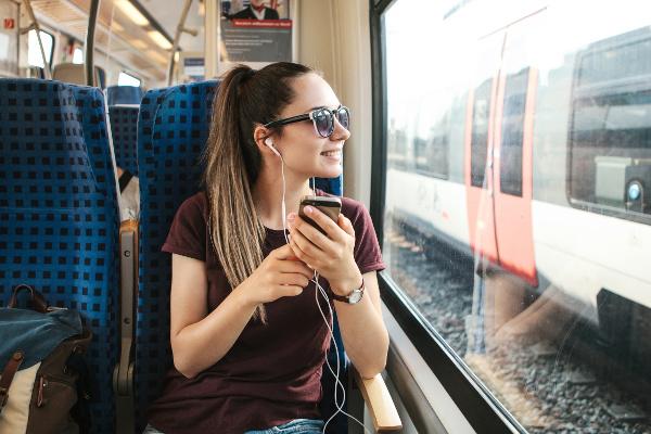 Musica per viaggiare in treno