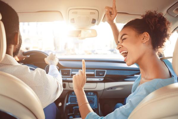 Musica viaggio on-the-road in auto