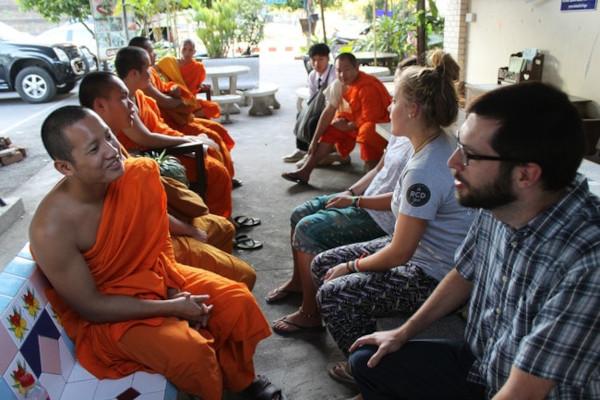 Monk Chat - Chiacchierata col monaco