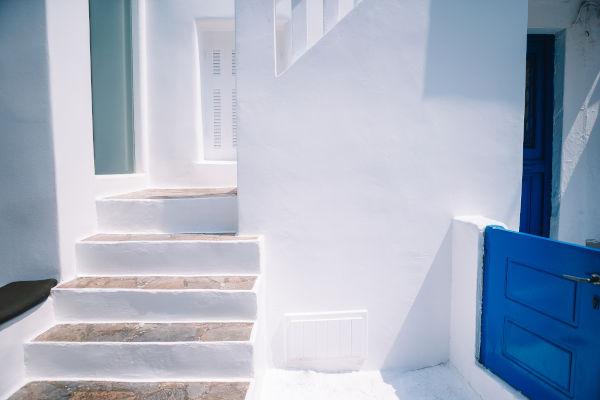 Gradini a Santorini