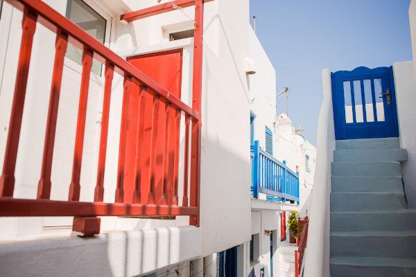 Strade di Santorini