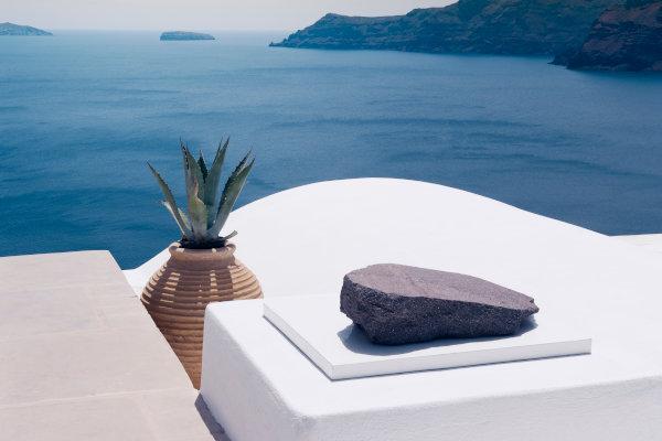 Vista hotel Santorini
