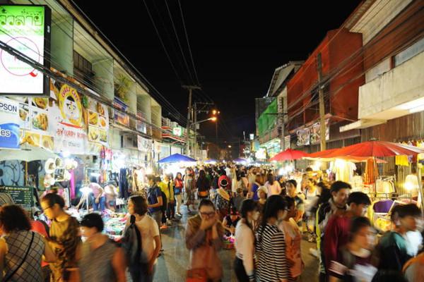 Wualai Walking Street Market