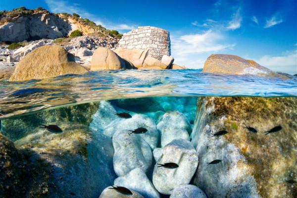 Immersione subacqua a Villasimius