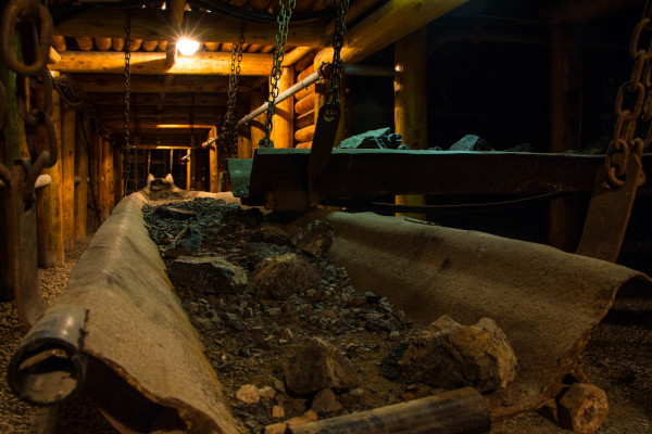 Museo del carbone a Serbariu a Carbonia