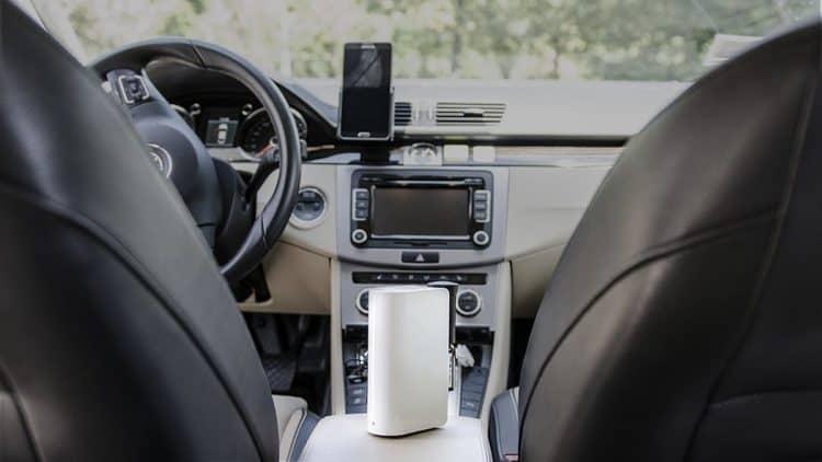 Umidificatore in auto