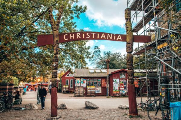 Comune di Christiania a Copenhagen
