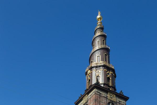 Torre della chiesa del nostro Redentore a Copenhagen