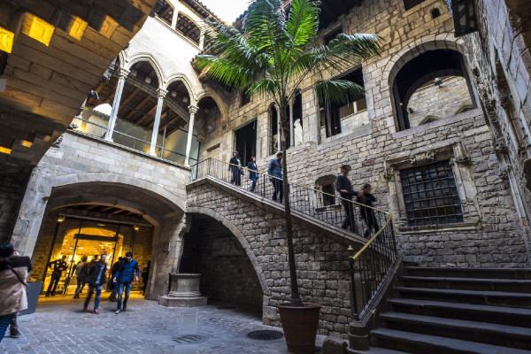 Entrata museo di Picasso